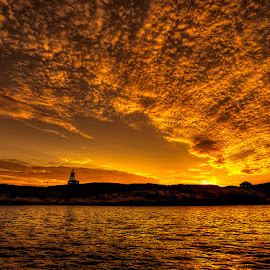 Hållø Lighthouse. by John Aavitsland - Landscapes Sunsets & Sunrises