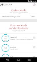 Screenshot of MeinVodafone