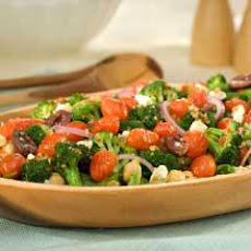 Greek Roasted Tomato Salad