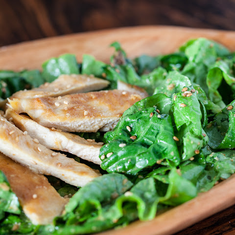 Sesame Chicken Salad Dressing Chicken Salad With Sesame-miso