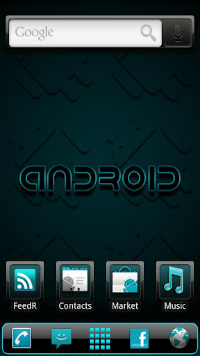 ADWTheme Incredible Cyan