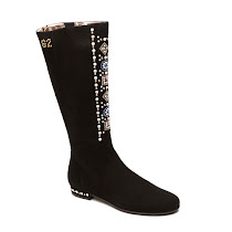 Step2wo Antoinette - Embellished Suede Boot BOOT