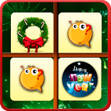 XMas and New Year Puzzle game