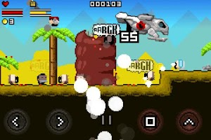 Screenshot of Gunslugs Free