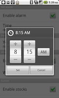 Screenshot of Smarter Alarm Free