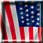 Animated USA Flag LWP icon