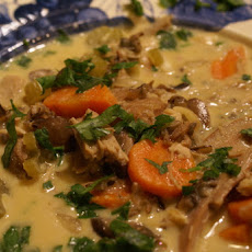 Creamy Chicken-Wild Rice Soup