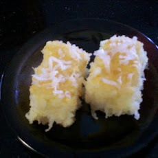 Middle Eastern Coconut Cake (Harissah)