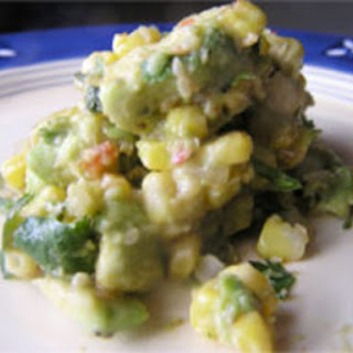Asian-Inspired Corn, Avocado and Sesame Salsa