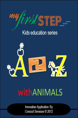 【免費教育App】Alphabets with Animals-A2Z-APP點子