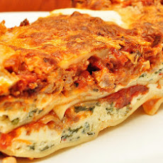 Babzy's Spinach and Feta Lasagna - Only 5 Ww Points