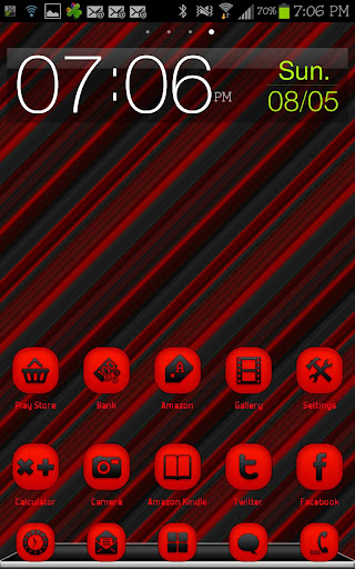 THEME - Pure Red