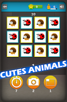 Screenshot of Animals Memory Rush