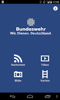 Screenshot of Bundeswehr