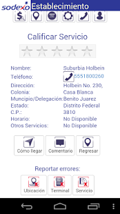 Sodexo Movil Beneficiarios - screenshot