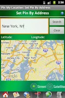 Screenshot of Pin My Location
