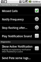 Screenshot of FlashNotify Free Edition