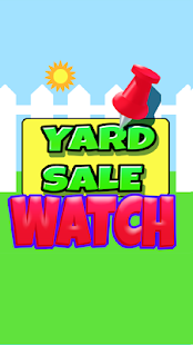 Yard Sale Watch - screenshot