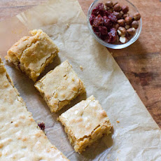 Hazelnut and Cherry Browned Butter Bar Recipe