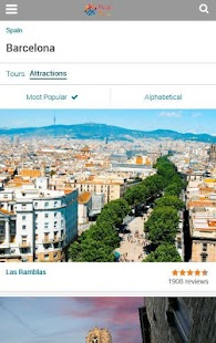 Barcelona Travel Deals Guide - screenshot