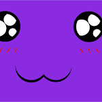Random Purple Derpy Face