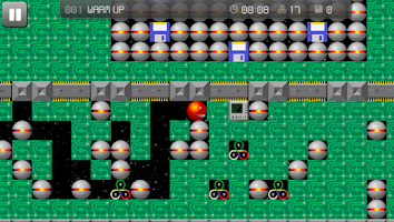 Screenshot of Supaplex