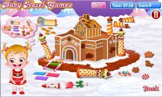 Screenshot of Baby Hazel Gingerbread House