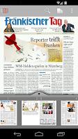 Screenshot of inFranken E-Paper