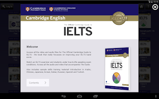 Screenshot of Official Cambridge Guide IELTS