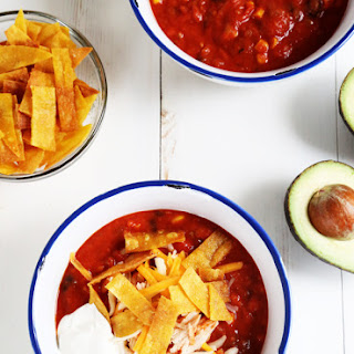 Taco Soup With Refried Beans Recipes