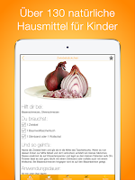 Screenshot of Hausmittel für Kinder - Lite
