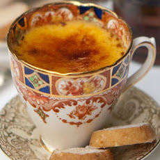 Crème Brulée With Whisky-soaked Sultanas And Shortbread