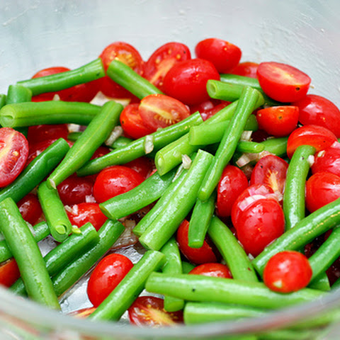Green Bean and Cherry Tomato Salad
