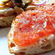 Maltese Tomato and Tuna Sandwich