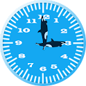 Killer Whale 3 Analog Clock icon