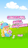 Screenshot of Cheerful Girl Matching