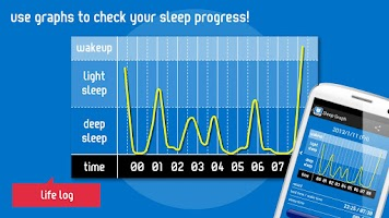 Screenshot of Good Night's Sleep Alarm