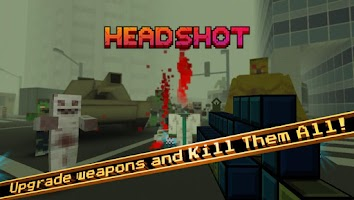 Screenshot of Pixel GunCraft 3D Zombie FPS