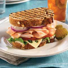 Mediterranean Turkey Sandwiches