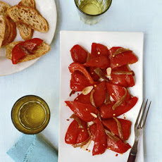 Roasted Red Peppers With Anchovies and Olive Oil
