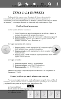 Screenshot of Curso de Admin. de Empresas