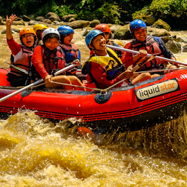 Rafting by OC Andoko - Sports & Fitness Watersports ( watersport, adventure, fun, rafting, jogja, river )