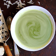 Cream of Parsley Soup with Fresh Horseradish