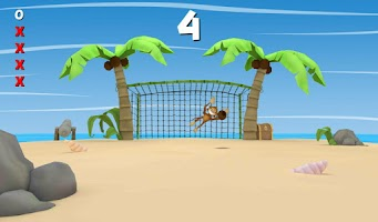Screenshot of Tropical Kong Penalty