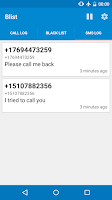 Screenshot of Blist - Block calls and texts