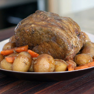 Basic Pot Roast With Vegetables for the Slow Cooker