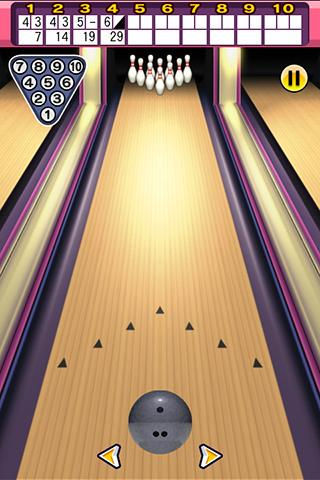 3d-simple-bowling for android screenshot