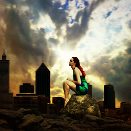 neeeng Hayati by Doni Andriady - Digital Art People