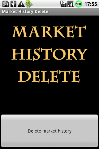 History Delete for Google Play