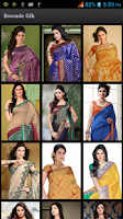 Screenshot of Saree Designs HD Brocade Silk